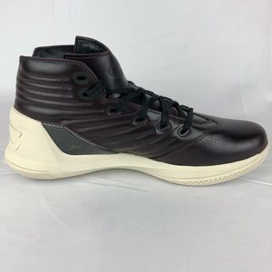 05af9cd698da Under Armour Shoes - Under Armour Curry 3 Lux Oxblood Leather Sneakers